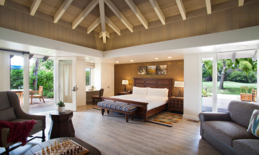 Quail Lodge Executive Villa interior, a hospitality architectural project by AXIS Architecture + Design