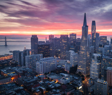 San Francisco skyline, as AXIS/GFA is named one of the fastest growing private companies in the Bay Area for 2020