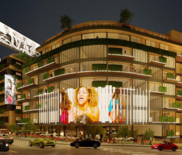 The Harper, a hotel and multi-family development in Hollywood by AXIS/GFA and Steve Kent Architects